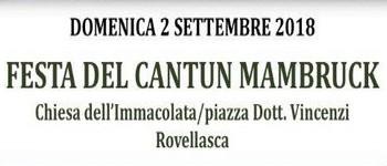 FESTA DEL CANTUN MAMBRUCK 2018