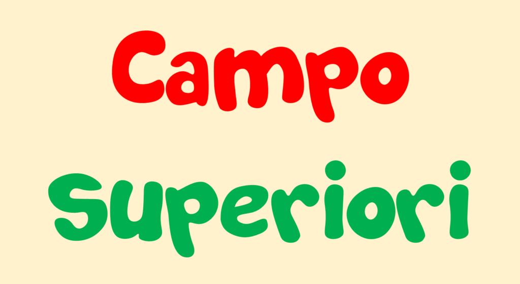 Campo superiori